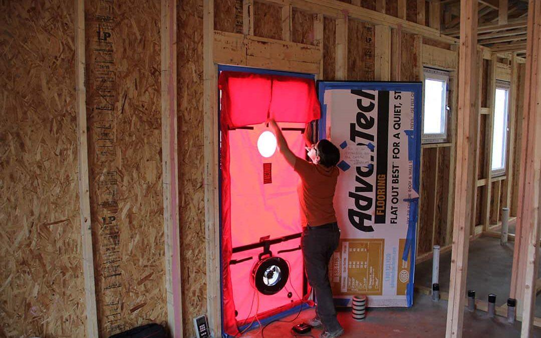 Ispitivanje zrakopropusnosti – blower door test